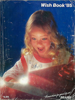 Sears Wish Book 1985 Christmas Catalog '85