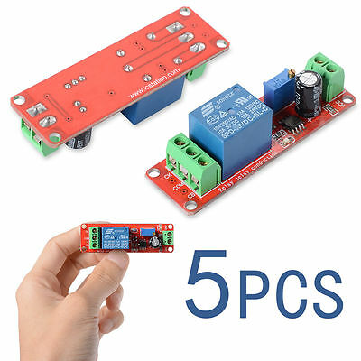5PCS New High Quality DC 12V Delay Timer Switching Adjustable Module 0-10 TE155