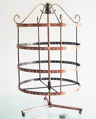 New 192  holes rotating earrings jewelry display stand rack holder
