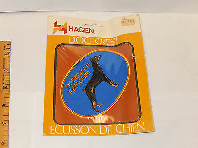 DOBERMAN PINSCHER DOG PATCH by Hagen New in Package