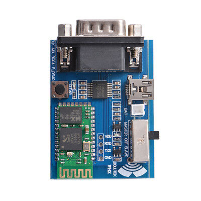 RS232 Bluetooth Serial Adapter Communication Master-Slave Module Mini USB TE607