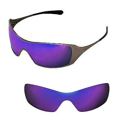 New WL Polarized Purple Replacement Lenses For Oakley Dart Sunglasses