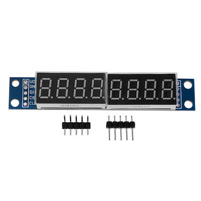 MAX7219 LED Dot Matrix 8-Digit Digital Display Module DC 5V for Arduino TE580