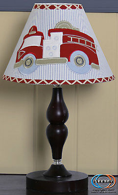 Lamp Shade for FireTruck Bedding Set By GEENNY designs