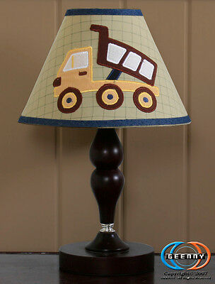 Lamp Shade for Baby Boy Constructor Crib Bedding Set