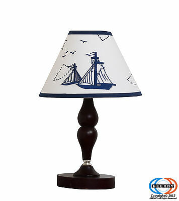 Baby Nautical Explorer Nursery Lamp Shade