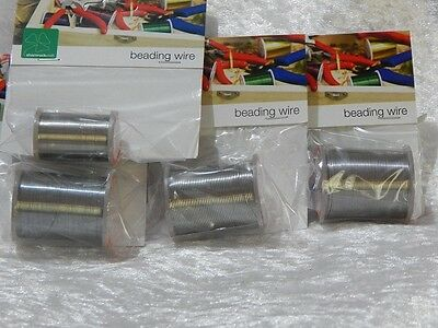 Beading Wire Silver - Various Sizes