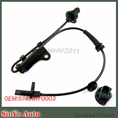 New ABS Wheel Speed Sensor Front Right Passenger Side For Honda Fit 57450TF0003
