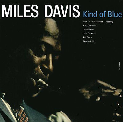 MILES DAVIS Kind Of Blue LP Vinyl NEW