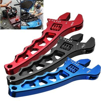 Adjustable Aluminum Alloy Wrench Fitting Tools Spanner AN3 3AN-12AN 3 Colors
