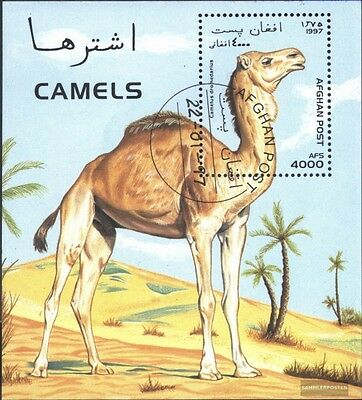 Afghanistan block92 (complete.issue.) fine used / cancelled 1997 Camels