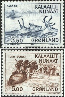 Denmark-Greenland 131-132 (complete.issue.) unmounted mint / never hinged 1981 D
