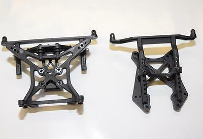 Ecx  Torment  2Wd Front And Rear Shock Tower Set