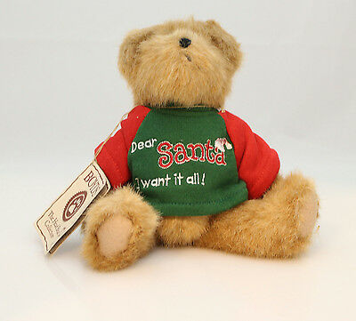 Boyds Bears Plush 2005 Greety - I Want it All - Thinking of Ya Series #914386-DT