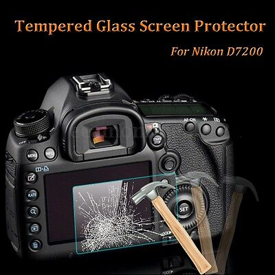 Camera LCD Screen Protection Cover Film 8H Hardness For Nikon D7200 D7100
