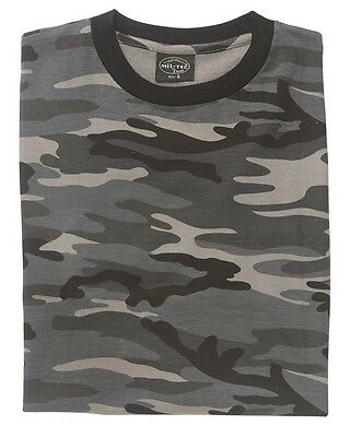 T-Shirt Dark Camo Military Army Bundeswehr Armee Bw Airsoft Outdoor