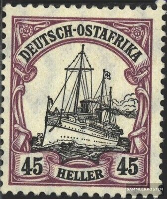 German-Eastern Africa 36 fine used / cancelled 1906 Ship Imperial Yacht Hohenzol