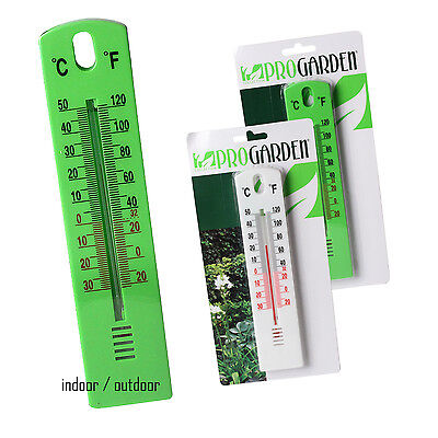 Large Garden Wall Outdoor Indoor Thermometer Greenhouse Room Patio Home Office