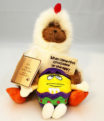 Boyds Bears Plush 2007 Chickie With Yellow - M&M's Collection - #9190001