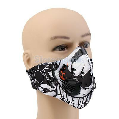 PM2.5 Smog Filter Dustproof Cycling Running Face Mask Anti-pollution Bike Mask