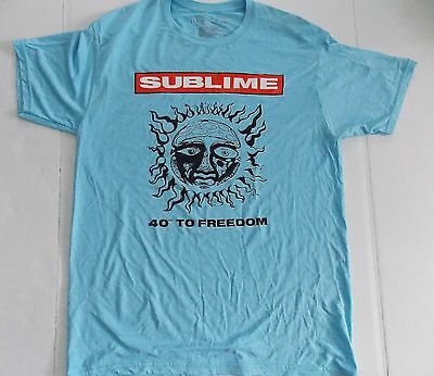 Sublime- NEW 40 oz. LIGHTWEIGHT POLYESTER T Shirt- Large SALE FREE SHIP TO U.S.!