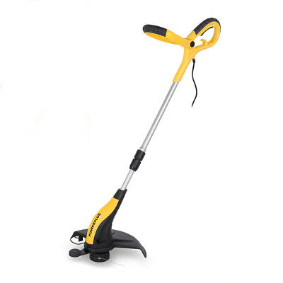 Powerplus 500W Electric Garden Telescopic Extending Handle Grass Trimmer 32cm