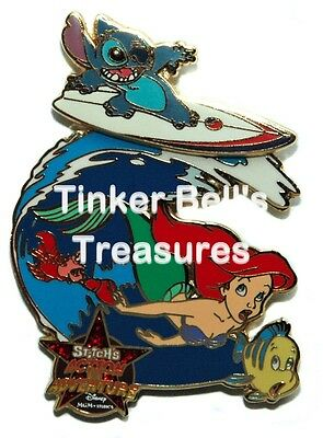 DISNEY Pin LE 1500 - Stitch's Action Adventure - Voyage of the Little Mermaid