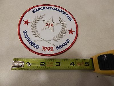 Vintage Embroidered Patch--Starcraft  Camper Club 1992  Rally -South Bend In.