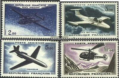 France 1279-1282 (complete issue) unmounted mint / never hinged 1960 Airmail