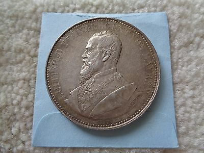1890-91 Germany BAVARIA large silver medal coin by A BOERSCH