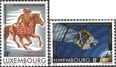 Luxembourg 1078-1079 (complete issue) unmounted mint / never hinged 1983 communi