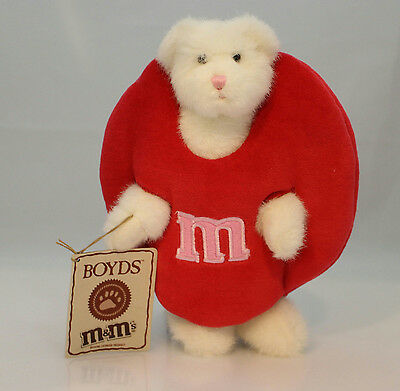 Boyds Bears Plush 2007 Hunnybunch Peekerbear - M&M's Collection - #919021