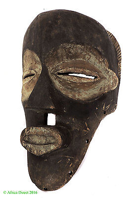 Mbagani Circumcision Mask Helmet Congo African SALE WAS $99