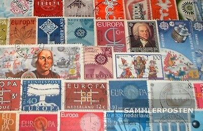 Europe 100 different stamps CEPT