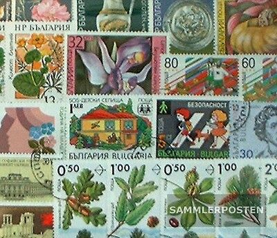 Bulgaria 300 different stamps