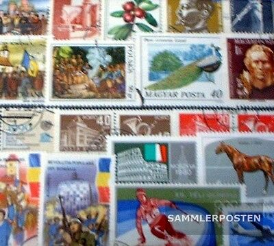 Eastern Europe 100 different stamps
