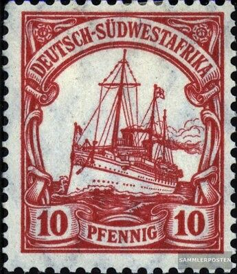 German-Southwest 26a used 1906 Ship Imperial Yacht Hohenzollern