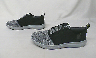 the best attitude 9487a cec8e UNDER ARMOUR UA Charged 24/7 Low Men's Running Shoes Black/Amalgam Gray  Size 9