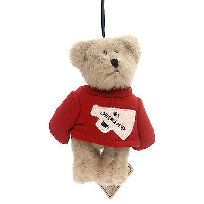 Boyds Bears Plush Ornament 2005 #1 Cheerleader - Head Bean Collection - #562759