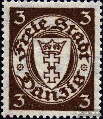 Gdansk 216y (complete issue) used 1935 Postage stamp