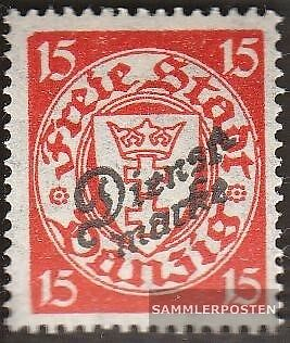 Gdansk D44 used 1924 service mark