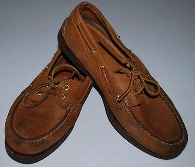 $95 USED Men's Sperry Authentic Original Boat Shoes Top Sider Size 10