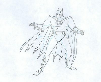 Batman The Animated Series Animation Production cell Drawing Warner Bro 2*
