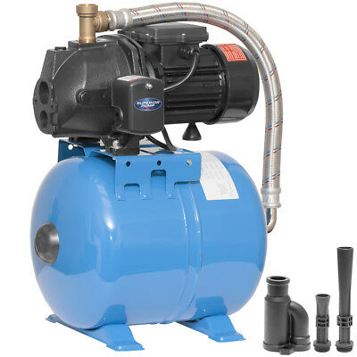 Superior Pump 9.9 GPM 1/2 HP Cast Iron Convertible Jet Pump System w/ 6.3-Gal...