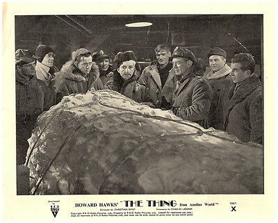 The Thing From Another World Original Lobby Card 1951 Kenneth Tobey Howard Hawks
