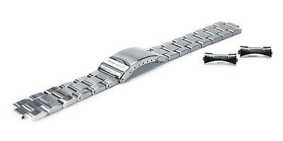 Chris Benz Metal Strap For One Man 200m 20 mm Silver Ersatzteile