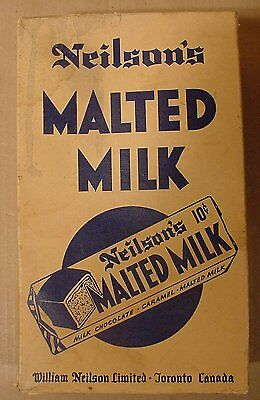 Vintage Neilson's Malted Milk Chocolate Bar Box