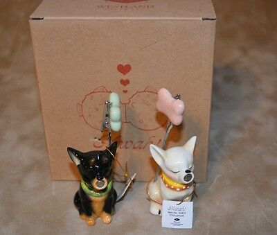 NEW MWAH! Westland Chihuahua Picture Holders #93431