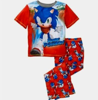 Sonic The Hedgehog Boom Child 2 piece Pajamas set 5 6-7 8 XS S M Sleepwear boys
