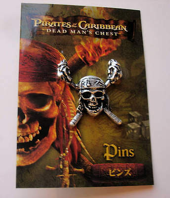 Japan Pirates Of The Caribbean Dead Man's Chest THEATER Exclusive Pin Skull